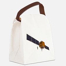 GPS satellite, artwork - Canvas Lunch Bag