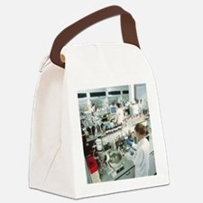 Chemistry laboratory - Canvas Lunch Bag