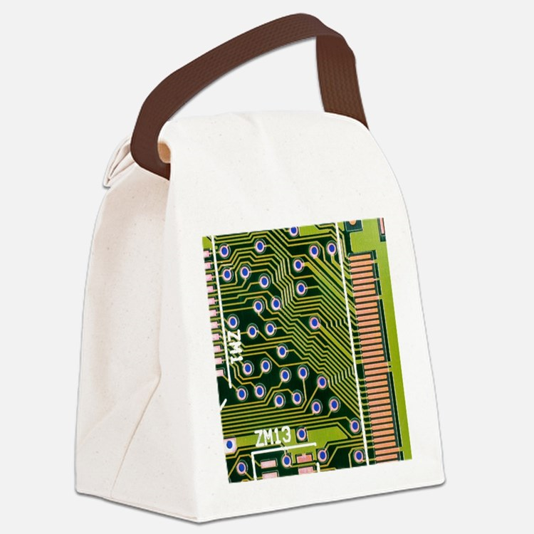 uit board - Canvas Lunch Bag