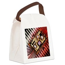 integrated circuit - Canvas Lunch Bag