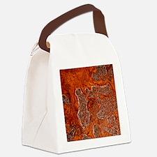 Rust seen on a steel sheet - Canvas Lunch Bag