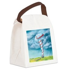 Tornado dynamics, artwork - Canvas Lunch Bag