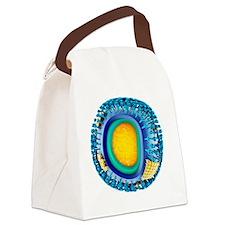 k - Canvas Lunch Bag