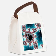 Mandelbrot fractal - Canvas Lunch Bag