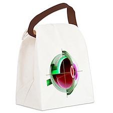 Human eye - Canvas Lunch Bag