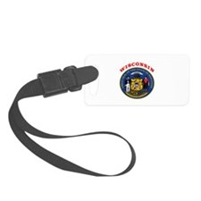 Wisconsin State Seal Luggage Tag
