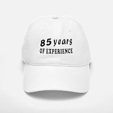 85 years birthday designs Baseball Baseball Cap