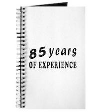 85 years birthday designs Journal