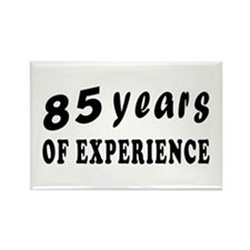 85 years birthday designs Rectangle Magnet