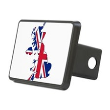 UK Outline and Flag Hitch Cover