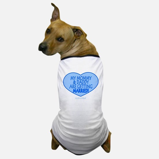 Cute Engagement party and wedding Dog T-Shirt