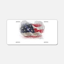 American Angler Aluminum License Plate