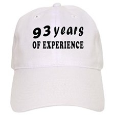 93 years birthday designs Baseball Cap