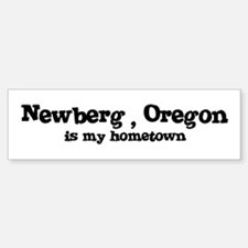 Newberg - Hometown Bumper Bumper Bumper Sticker