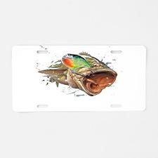 crankbait Aluminum License Plate