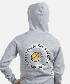 Sing Soft Kitty Zipped Hoody