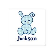 Custom Easter Blue Bunny Sticker