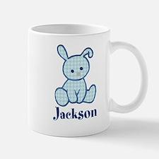 Custom Easter Blue Bunny Mug