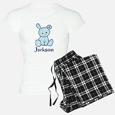Custom Easter Blue Bunny Pajamas