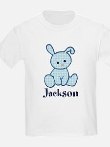 Custom Easter Blue Bunny T-Shirt