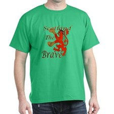 Scotland The Brave Boxing T-Shirt