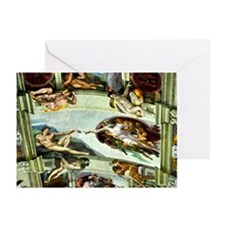 Sistine Chapel Ceiling Greeting Cards (Pk of 10)