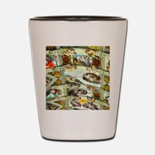 Sistine Chapel Ceiling Shot Glass