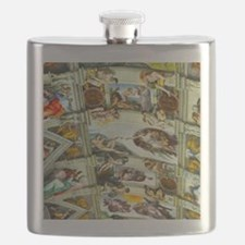 Sistine Chapel Ceiling Flask