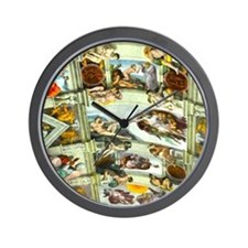 Sistine Chapel Ceiling Wall Clock