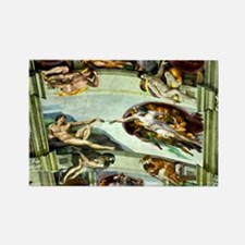 Sistine Chapel Ceiling Rectangle Magnet (10 pack)