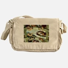 Sistine Chapel Ceiling Messenger Bag