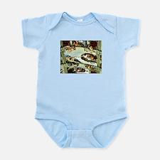 Sistine Chapel Ceiling Infant Bodysuit