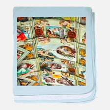 Sistine Chapel Ceiling baby blanket