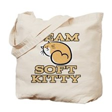 Team Soft Kitty Tote Bag