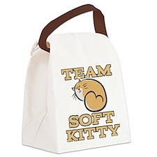 Team Soft Kitty Canvas Lunch Bag