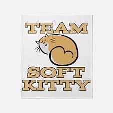 Team Soft Kitty Throw Blanket
