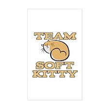 Team Soft Kitty Decal