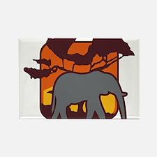 elefant Rectangle Magnet