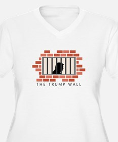 The Trump Wall Plus Size T-Shirt