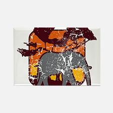elefant (used) Rectangle Magnet