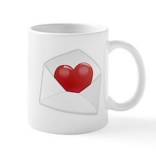 Heart Envelope Mug
