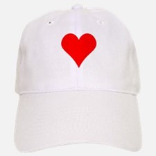 Simple Red Heart Baseball Baseball Baseball Cap