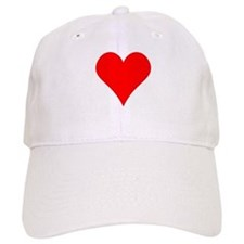 Simple Red Heart Baseball Baseball Cap