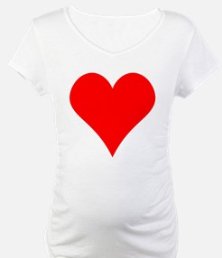 Simple Red Heart Shirt
