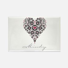Love Mindy Rectangle Magnet (10 pack)