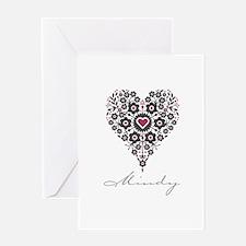 Love Mindy Greeting Card