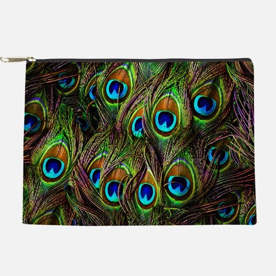 Peacock Feathers Invasion Makeup Pouch