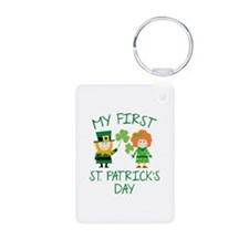 My First St. Patrick's Day Keychains