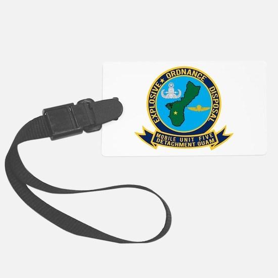 EOD Mobile Unit 5 Guam Luggage Tag