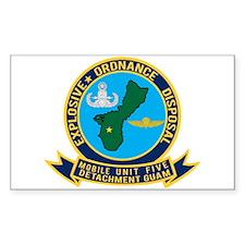 EOD Mobile Unit 5 Guam Decal